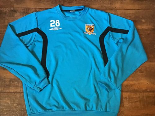 2009 2010 Hull City No 28 Player Issue Sonko Training Top Football Shirt XL